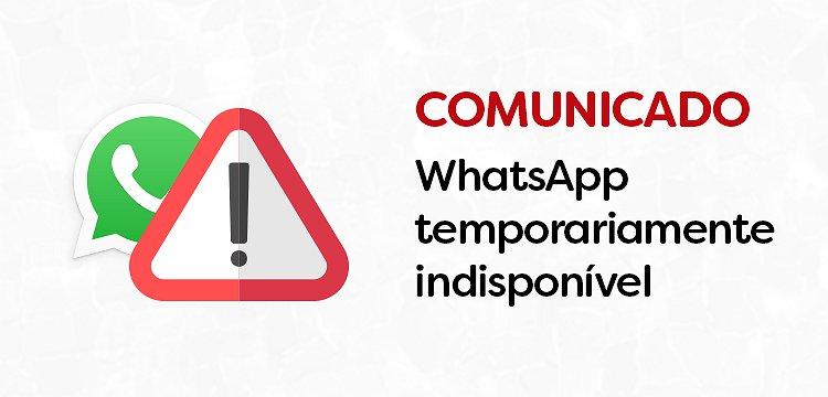 Comunicado - Atendimento via WhatsApp