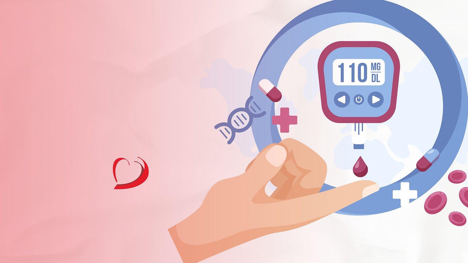 Diabetes uma doença que podemos evitar tendo hábitos saudáveis