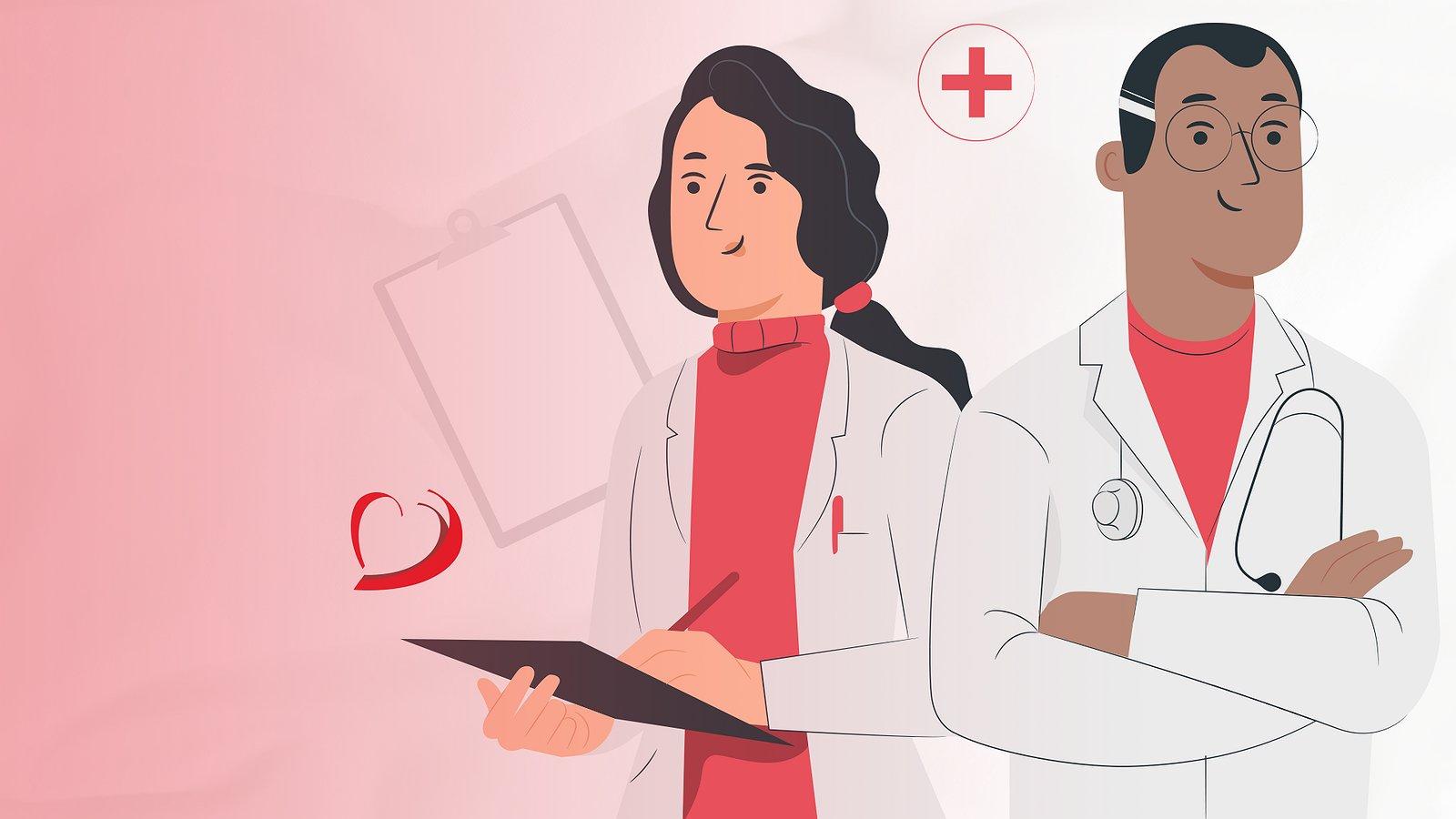 Parabéns aos médicos por exercerem a profissão com excelência!